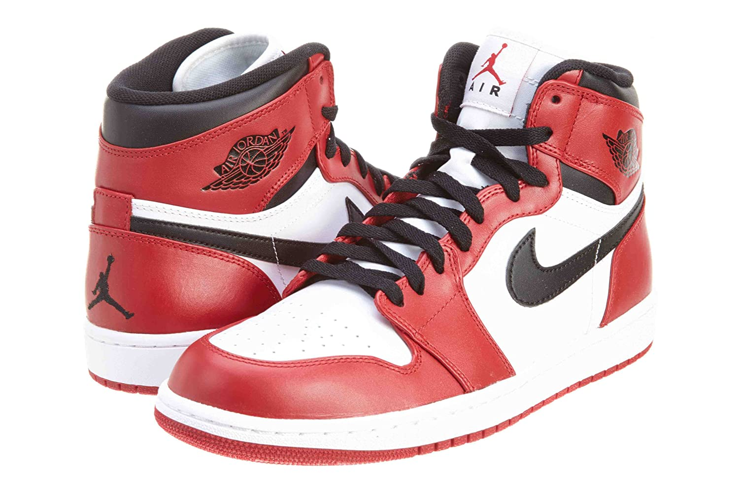 plus récent 1e8e8 b527c Amazon.com | Nike Mens Air Jordan 1 Retro High 2013 Chicago ...
