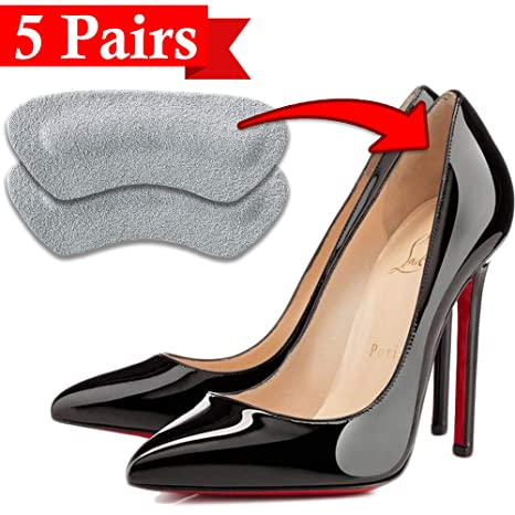 Buy Suede Heel Grips Self-Adhesive Pads for Men and Women s Shoes 5 Pairs  by bogo Brands Online at Low Prices in India - Amazon.in 5d2142421