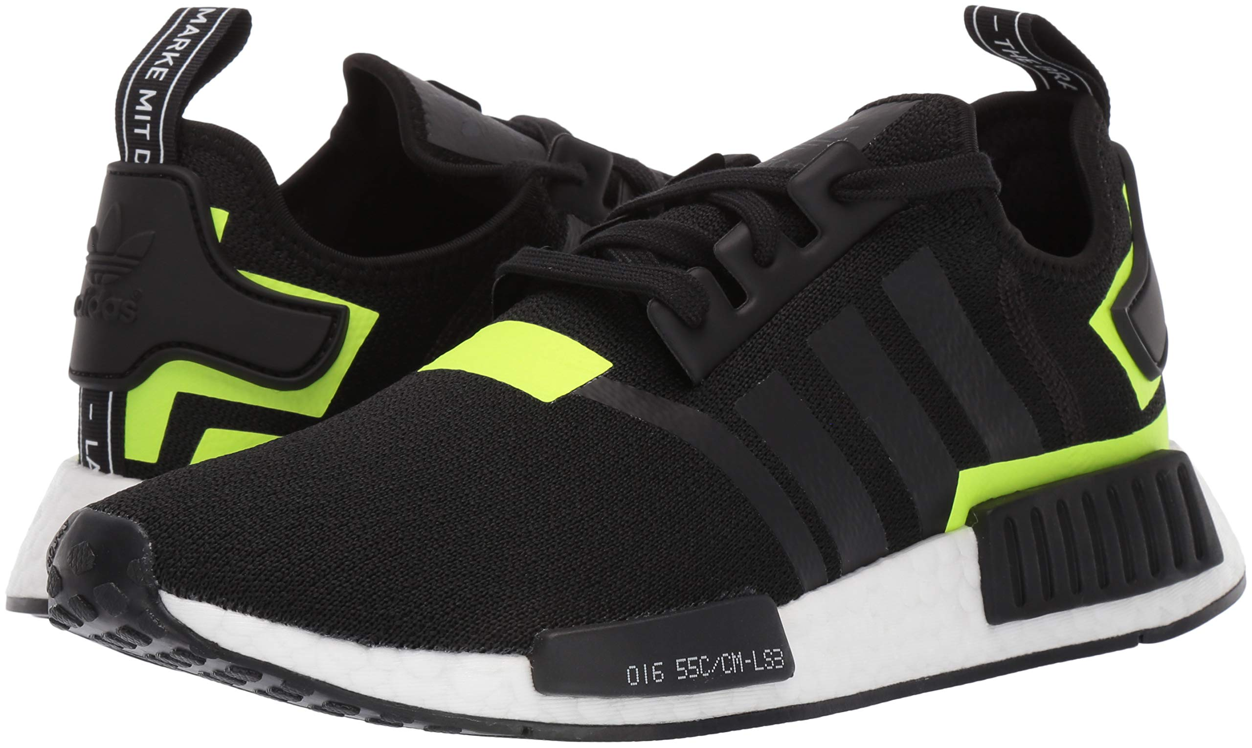 adidas Originals Men's NMD_R1 Running Shoe, Black/White 1, 4 M US by adidas Originals (Image #5)