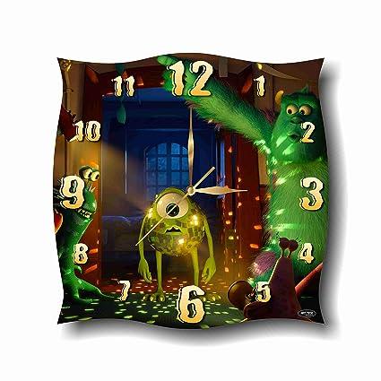 Amazon.com: Monsters, Inc. 11.4 Handmade Wall Clock - Get ...