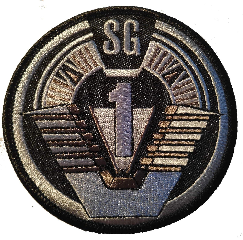 Stargate SG-1 Project Earth Atlantis U.S.S Odyssey Cosplay Costume Patch Parche Bordado Termoadhesivo Titan One Europe