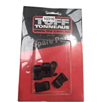 Replacement Shock Cord Clips Pack of Five Suits Clip On Tonneau Covers.