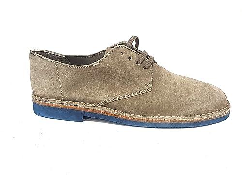 Frau - Mocasines de Ante para Hombre Beige Sughero: Amazon.es: Zapatos y complementos