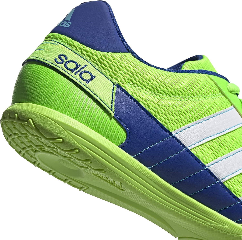 adidas Super Sala, Scarpe da Calcio da Uomo Verde Verde Solare Bianco Ftwr Blu Reale Team