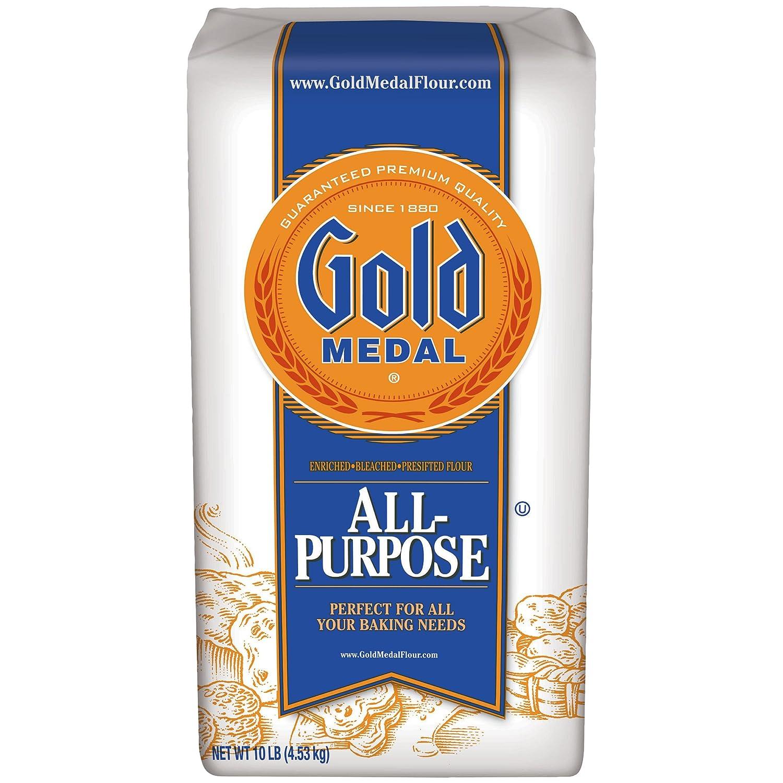 amazon com gold medal all purpose flour 10 lb grocery