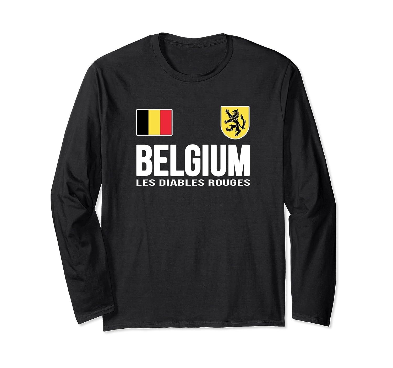 Belgium T-shirt Belgian Soccer Football Fan Jersey 2018-prm – Paramatee 4afebc225