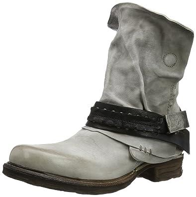 innovative design c9cfe ef8a6 Airstep 717207-9010-0468 Damen Biker Boots