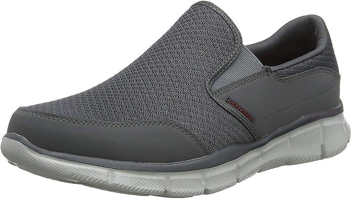 Skechers Ultra Flex Salutations Sneaker Herren Grau