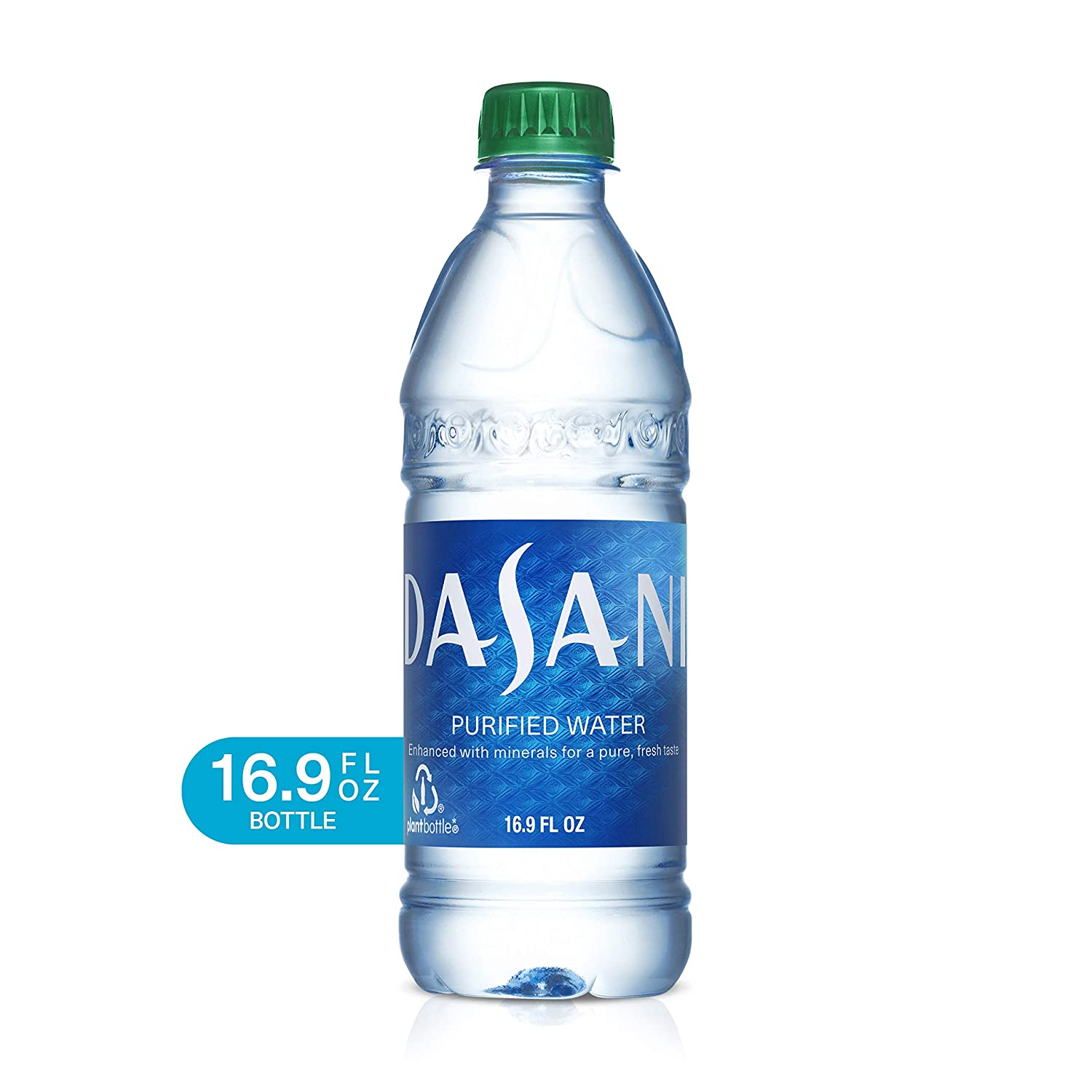 DASANI Purified Water Bottles Enhanced with Minerals, 16 9 fl oz, 24 Pack