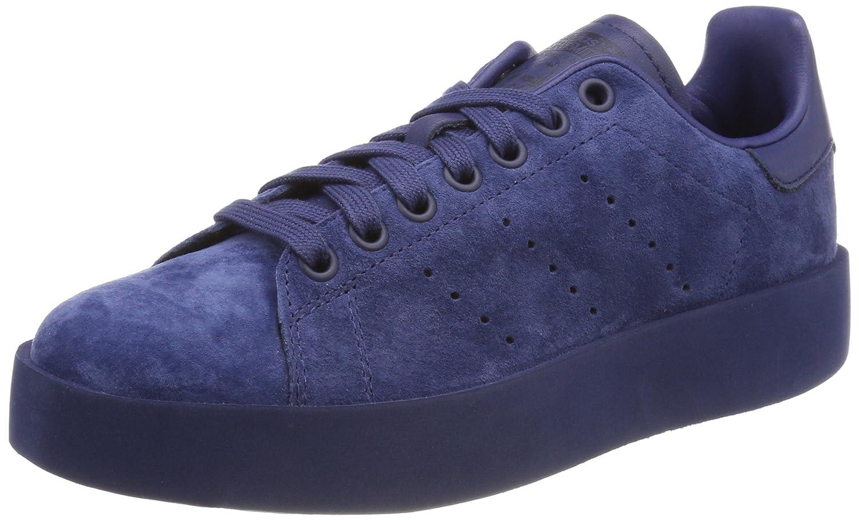 Adidas Damen Stan Smith Bold W Blau Gymnastikschuhe, Weiß Grau Blau W (Indnob / Indnob / Indnob 000) d0747e