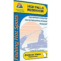 High Falls Flowage (Marinette Co) Fishing Map