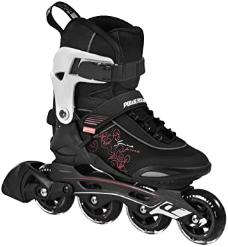 18d97dfbcb4 Powerslide Damen Inline-Skate Gamma, Schwarz, 42: Amazon.de: Sport ...