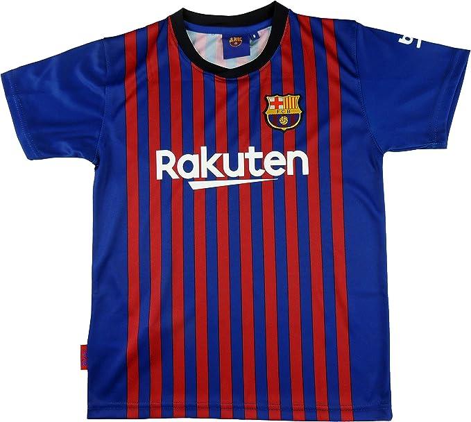 FC. Barcelona Camiseta Réplica Infantil Primera Equipación 2018 ...