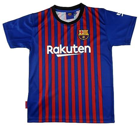 FCB BARÇA Camiseta 1ª Equip 2018-2019 Messi T-M: Amazon.es: Ropa y ...
