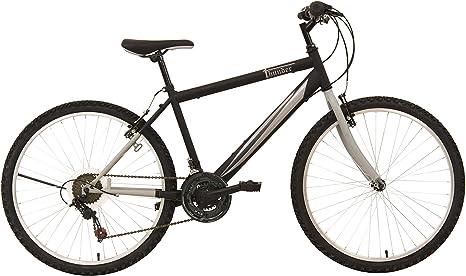 F.lli Schiano Thunder - Bicicleta de montaña para Hombre, Color Negro/Gris, Cambio Shimano, Rueda 26: Amazon.es: Deportes y aire libre