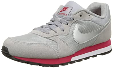 new arrival 325c7 aaf71 NIKE Women s WMNS MD Runner 2 Sample, Grey Cool Grey Pink, 9.5
