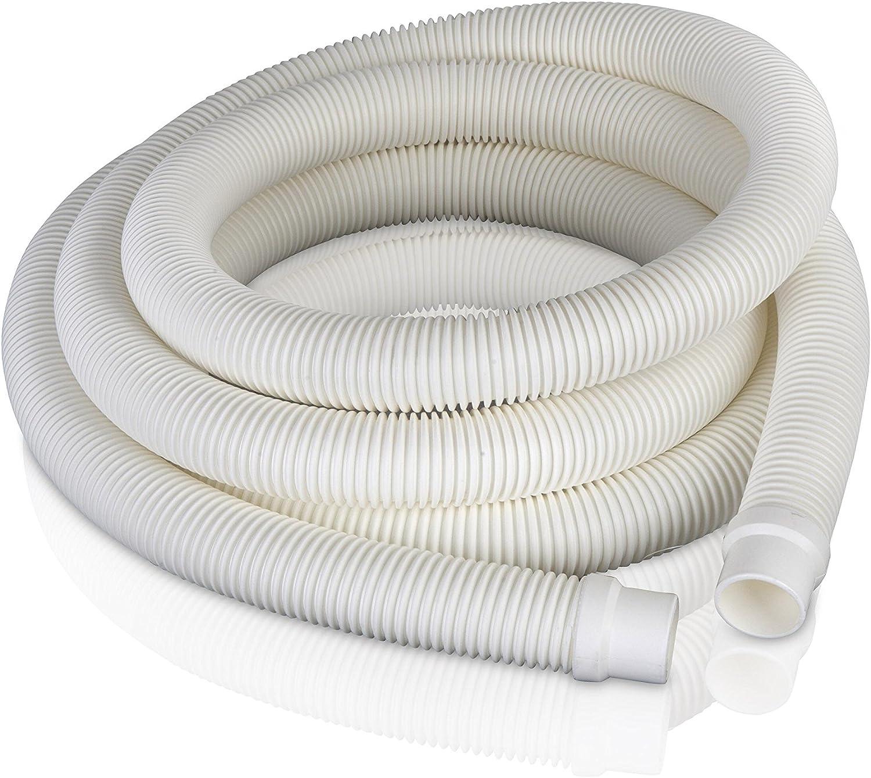 Gre 40181 - Manguera de 2 Terminales para Filtro de Piscina, Ø32 mm, 4 m