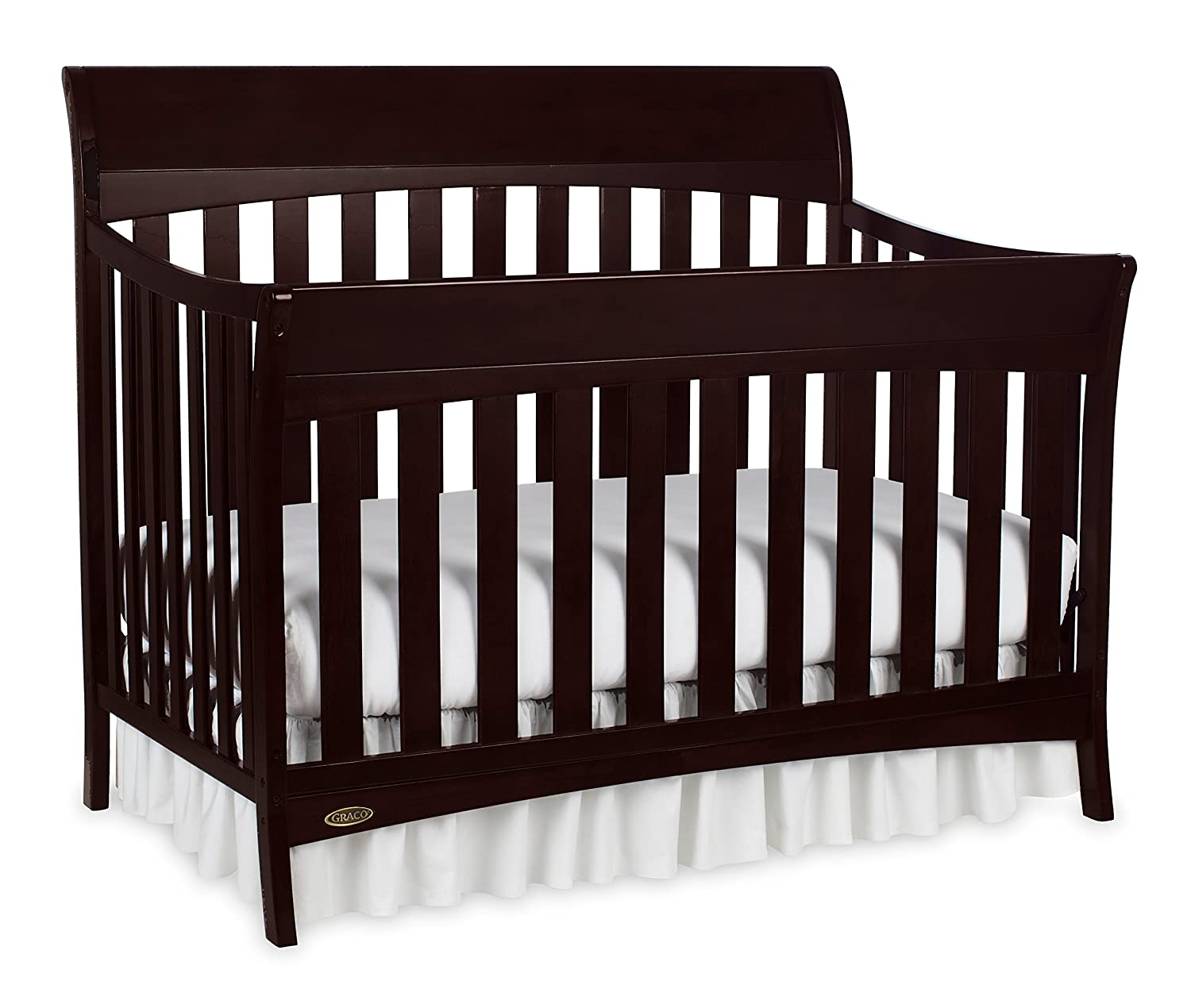 fixed in cribs side changer top lauren portofino craft stork graco and convertible espresso signature crib