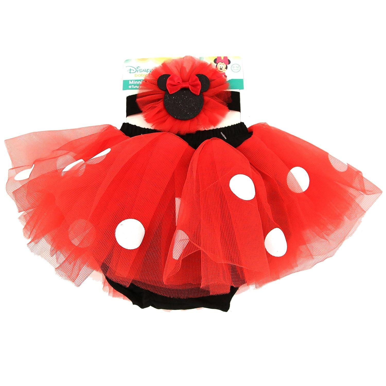 bb00f06c91 Disney Baby Minnie Mouse Vestido de hasta y tutú para niña