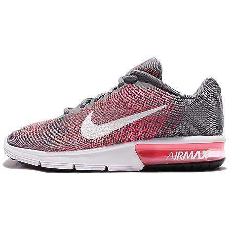 Nike Wmns Air Max Sequent 2 Scarpe da Corsa, Donna, Grigio