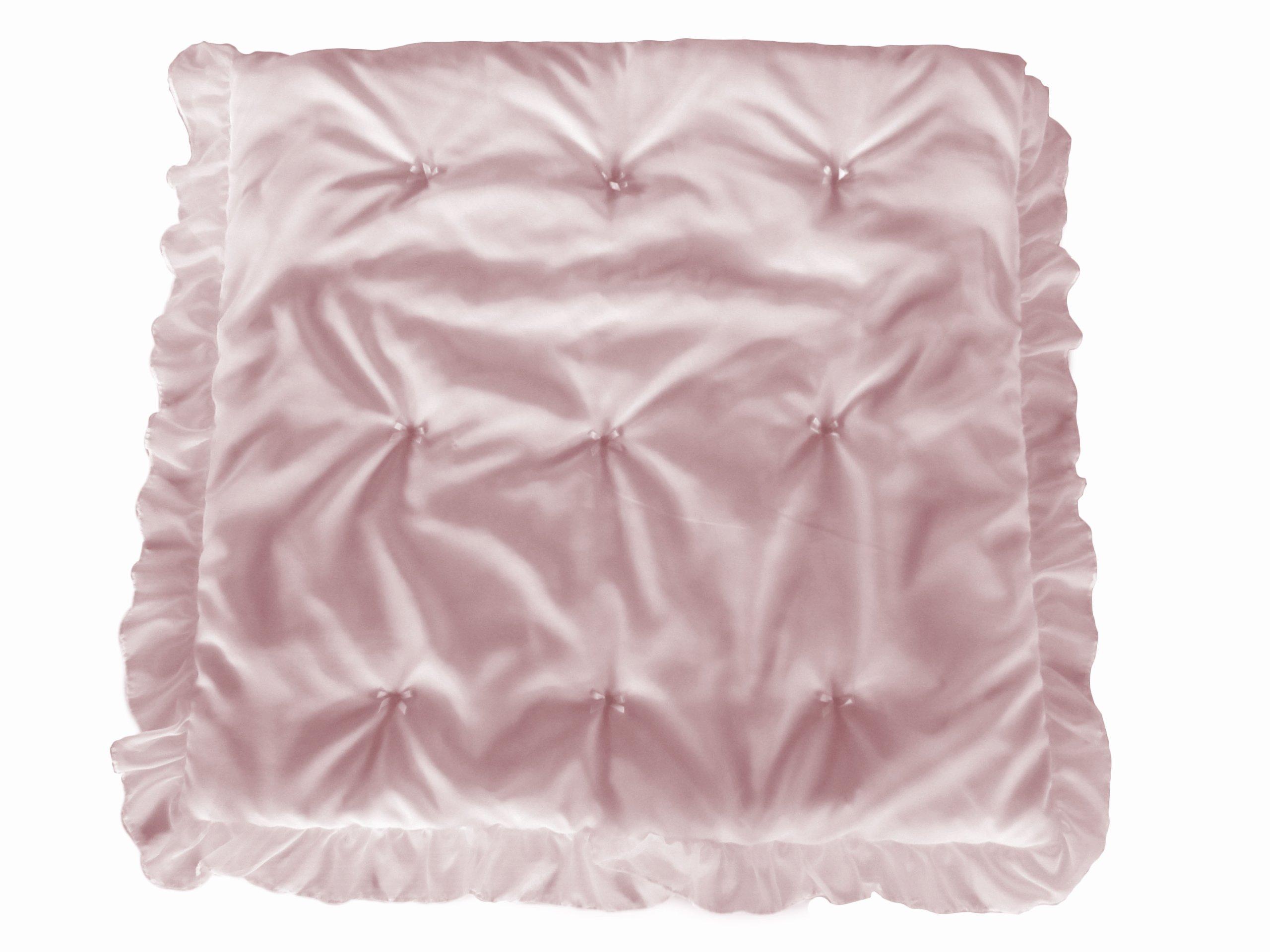 Baby Doll Bedding Layered Crib Comforter, Pink