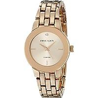 Anne Klein Women's Diamond-Accented Dial Bracelet Watch