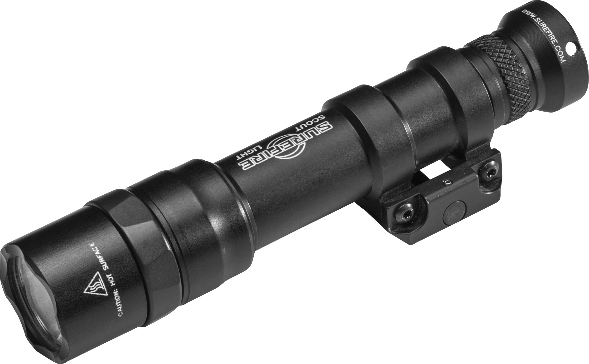 SureFire M600 Dual Fuel Scout Light with Z68 Switch and Thumbscrew Mount, Black