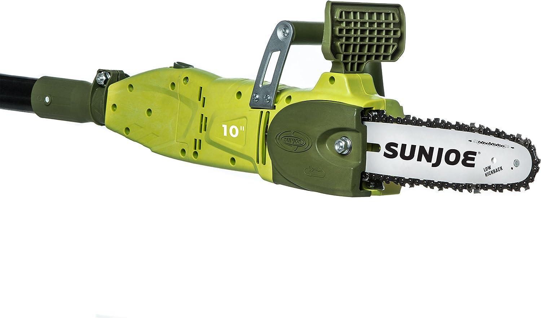 Sun Joe SWJ807E 10 inch 8.0 Amp Electric Convertible Pole Chain Saw