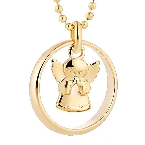 disfrute del envío de cortesía diseño hábil 2019 auténtico Fish - Collar para niña o niño, con cadena, plata 925 dorada ...