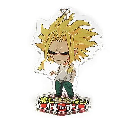 Yvetel My Hero Academia Anime(Boku no Hero Academia) Manga Acrylic Desk Decoration Figure (Keychain) Izuku Midoriya,Katsuki Bakugo,Shoto Todoroki (All ...