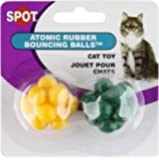 Ethical Atomic Bouncing Ball Cat Toy, 2-Piece
