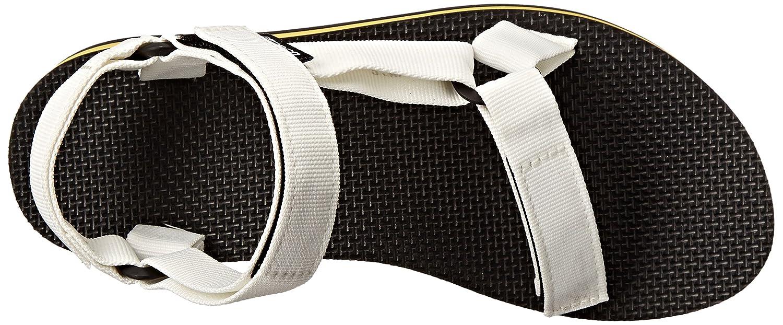 Teva Women's Flatform Universal B(M) Sandal B00KXD9KRS 9 B(M) Universal US|White/Yellow d44c04