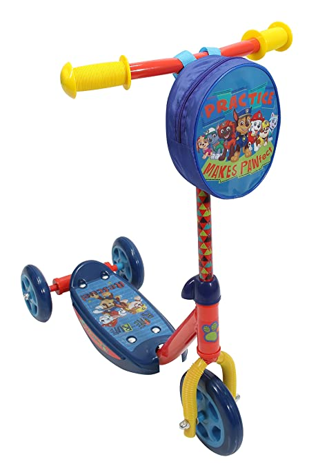 Amazon.com: Playwheel Paw Patrol - Patinete de 3 ruedas ...
