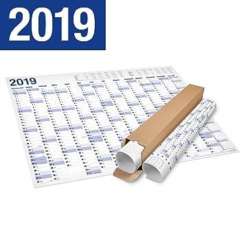 Xxl Jahresplaner Wandkalender 2019 In Poster Format 70x 100 Cm