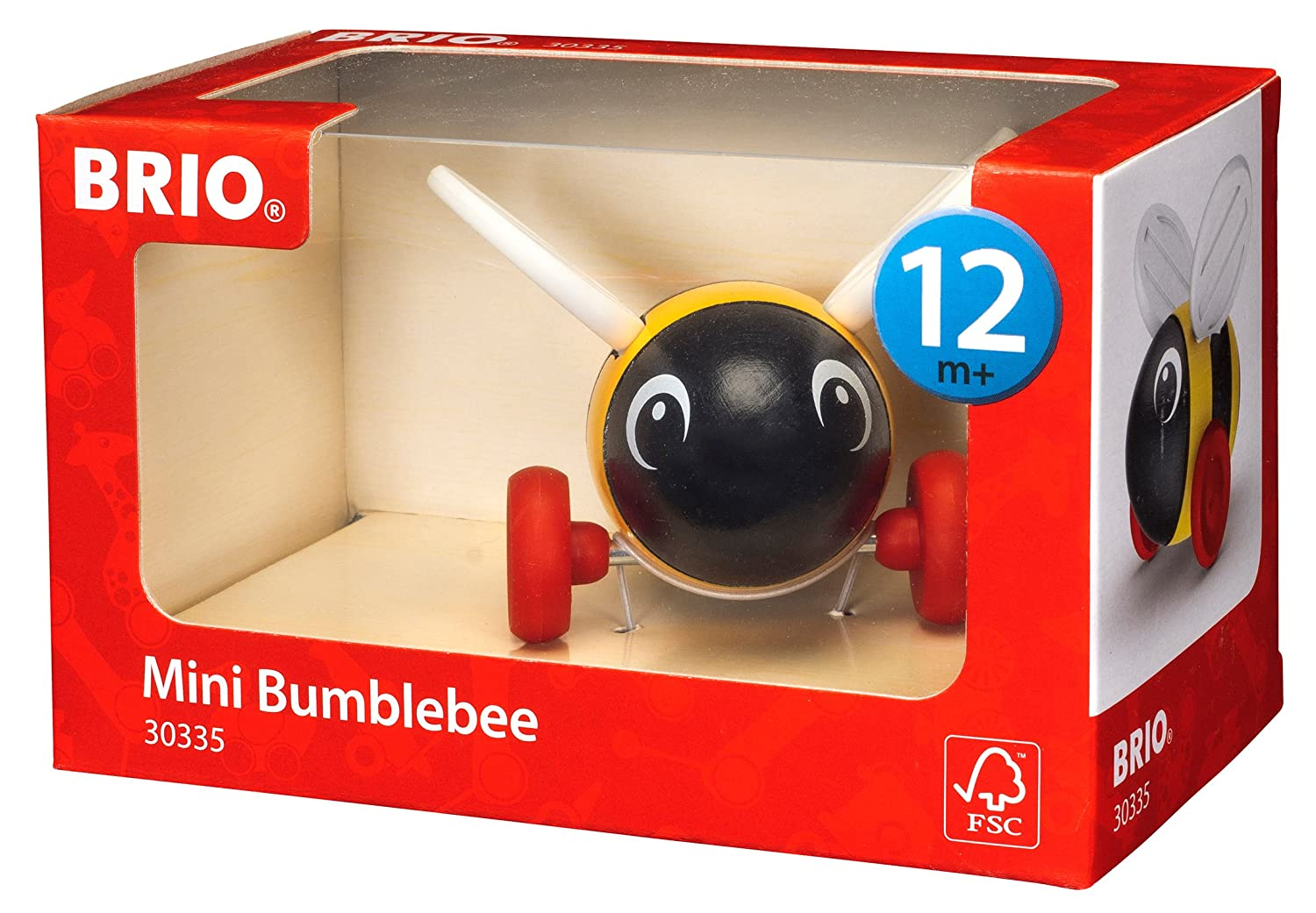 BRIO BRIO Mini Bumble Bee Baby Toy