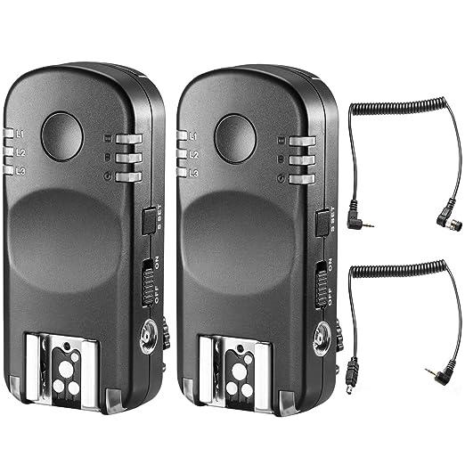 3 opinioni per Neewer Flash Trigger Trasmettitore 2,4G Wireless Remoto Funzionamento di Coppia