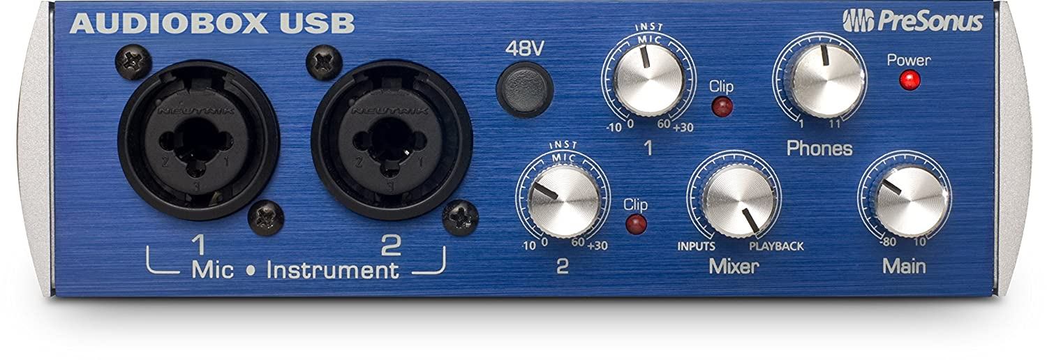 PreSonus AudioBox USB 2x2 Recording Interface