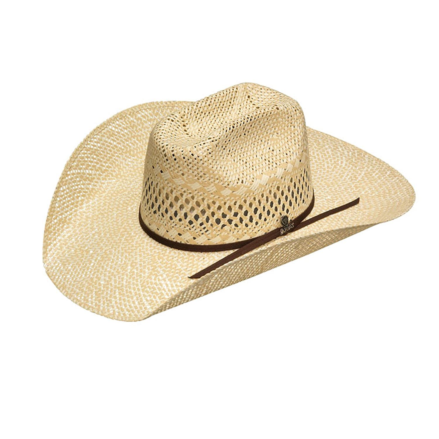 Ariat Men s Twisted Weave Hat at Amazon Men s Clothing store  25fd4abb8e7