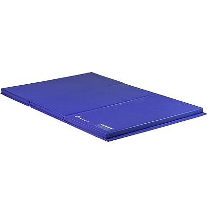 Amazon.com: z-athletic plegable panel esteras para gimnasia ...