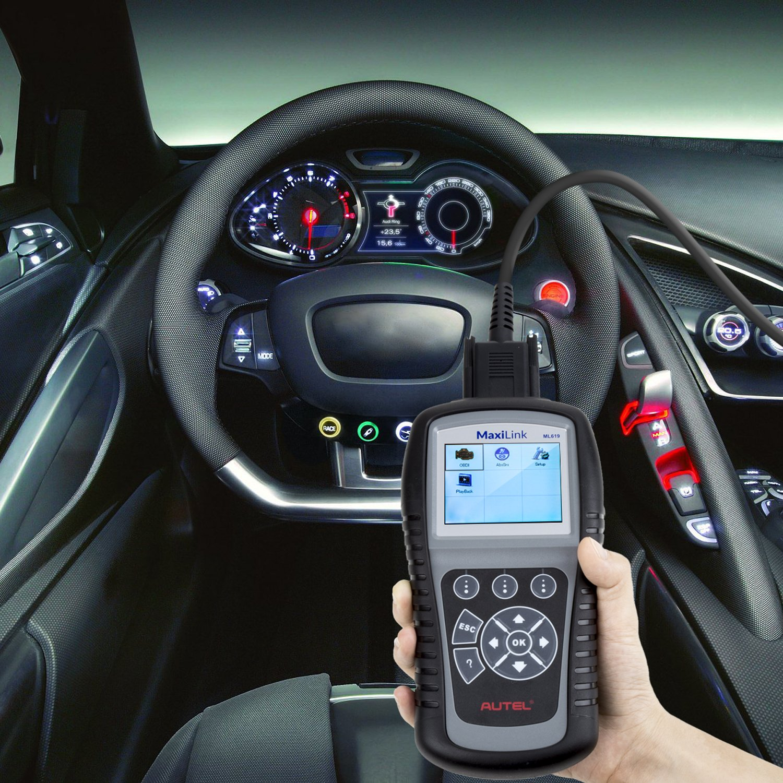 OBD2 Scanner Digital Code Reader Autel Maxilink ML619 Diagnostic Code Scanner ABS SRS Auto Code Reader Car Diagnostic Scan Tool by MaxiLink (Image #6)