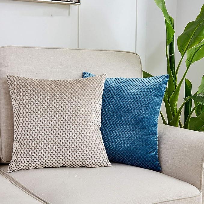 Amazon.com: onebanana Decorative Pillows Gray Throw Pillows ...