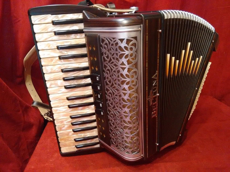 Nueva beltuna Piano acordeón alpstar III Helikon mmm 72 de ...
