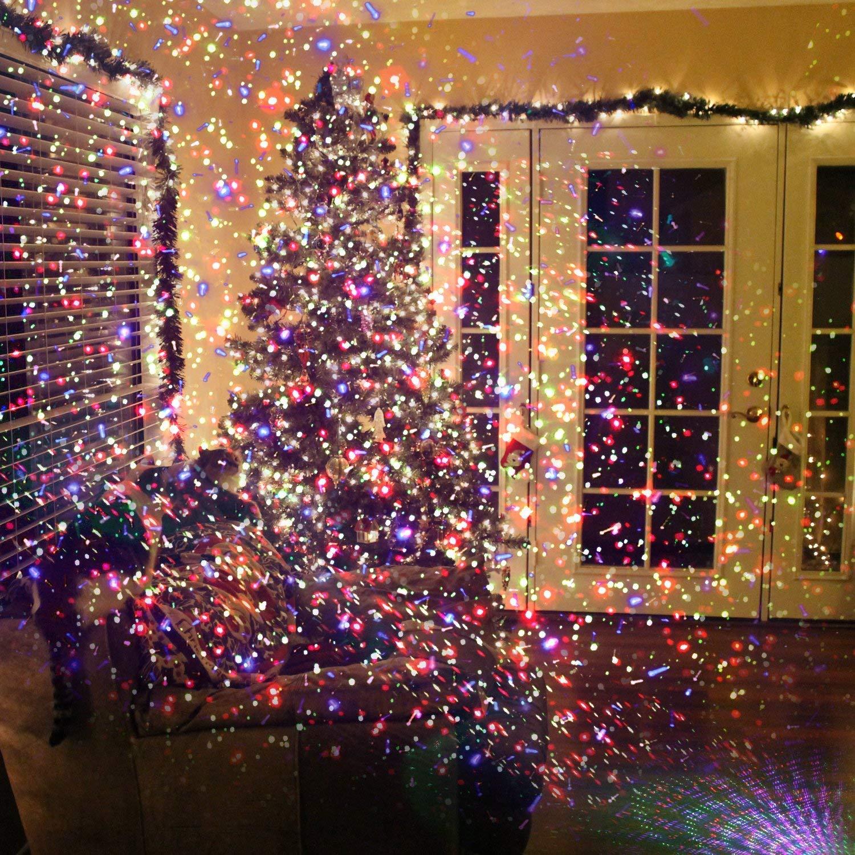 Christmas Laser Lights Star Light Spotlights Outdoor & Indoor Using