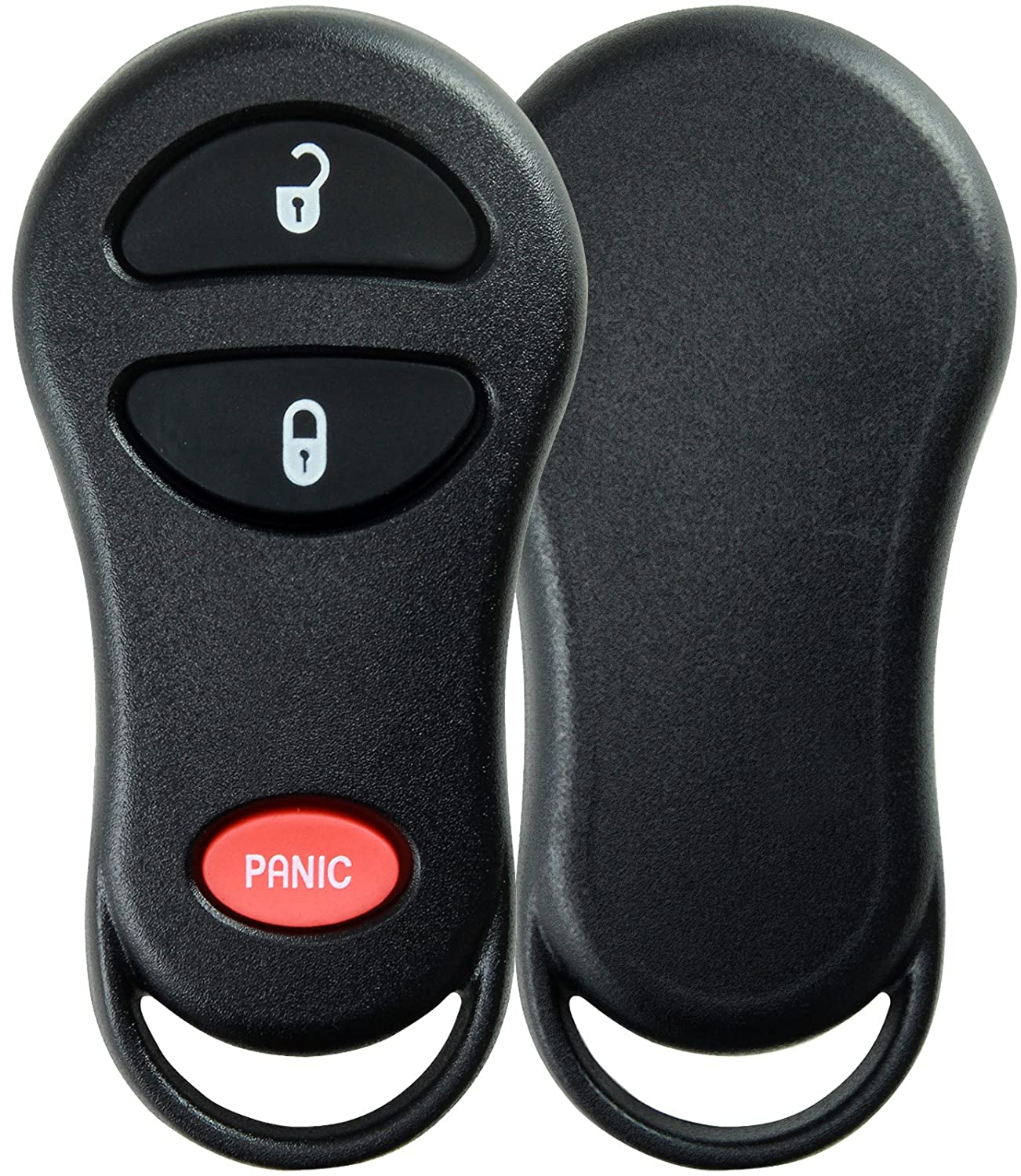 KeylessOption Just the Case Keyless Entry Remote Control Car Key Fob Shell Replacement for GQ43VT13T GQ43VT17T GQ43VT9T KPT1034