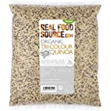 RealFoodSource Certified Organic Tricolour Quinoa (1KG)