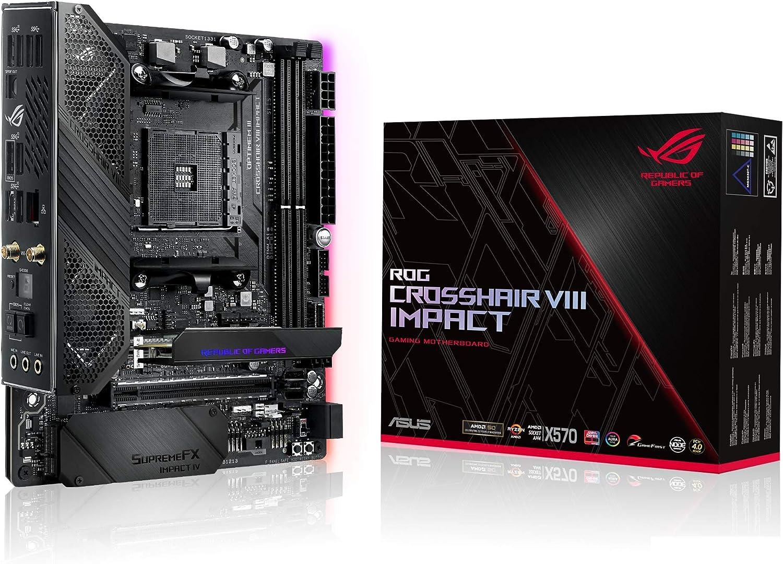 ASUS ROG CROSSHAIR VIII X 570 best Motherboard for RTX 3070