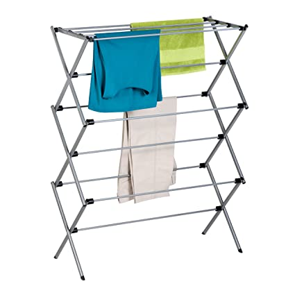 hanger p duty us drying laundry clothes dryer storage s folding portable rack heavy