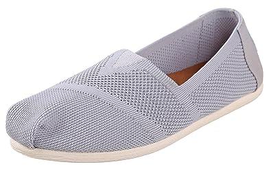 TOMS - Damen - Seasonal classics knit - Slipper - weiß 3yqWy