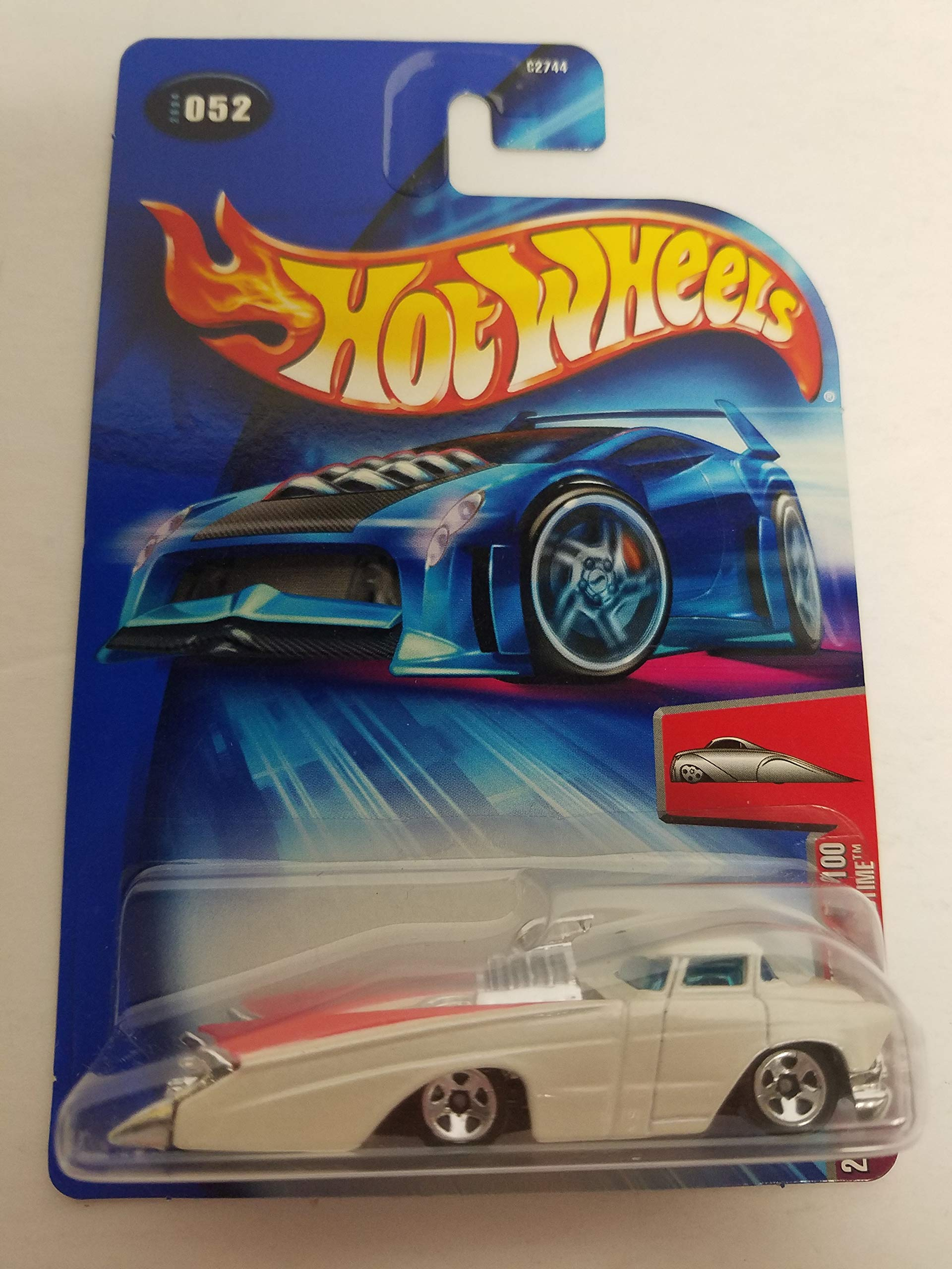 Crooze Bedtime White Color 2004 First Editions 52/100 Hot Wheels Diecast Car No. 052