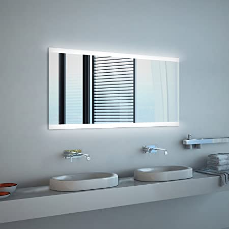 Specchio Bagno Led 100.Noemi Specchio Per Bagno Con Illuminazione A Led 100 X 60cm